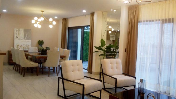 loop-d Salas de estilo moderno