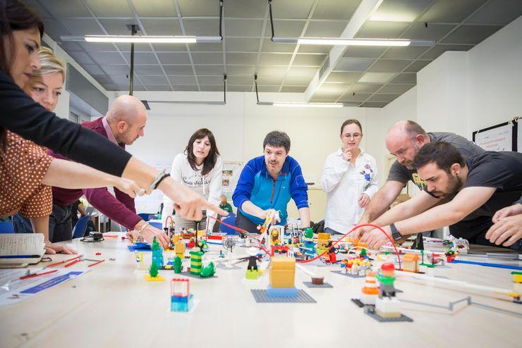 Lego in OrBiTa OrBiTa - Architettura oltre lo spazio Cucina moderna
