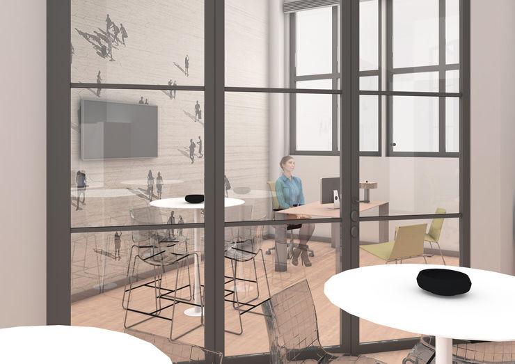 OrBiTa - Architettura oltre lo spazio Modern style study/office