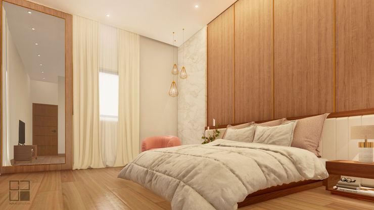 ACP ARQUITECTURA Minimalist bedroom Wood Wood effect
