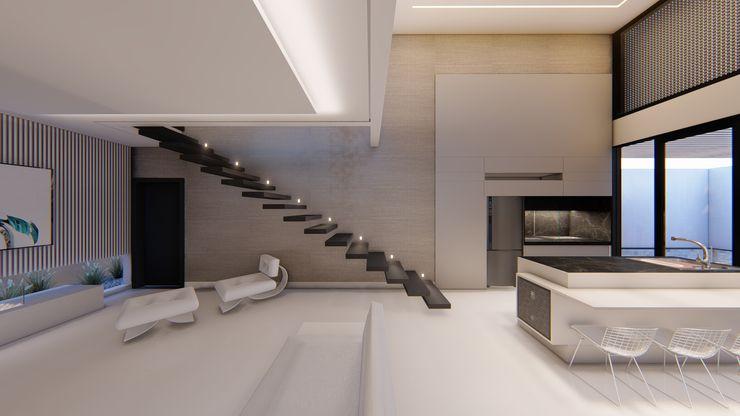 D arquitetura Stairs