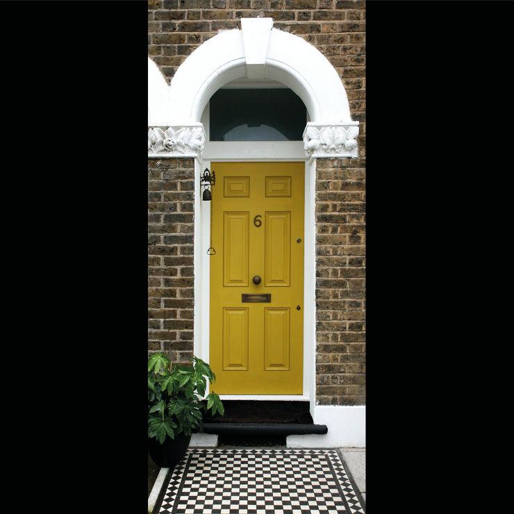 Front Door Tactus Design Workshop Front doors Wood Yellow