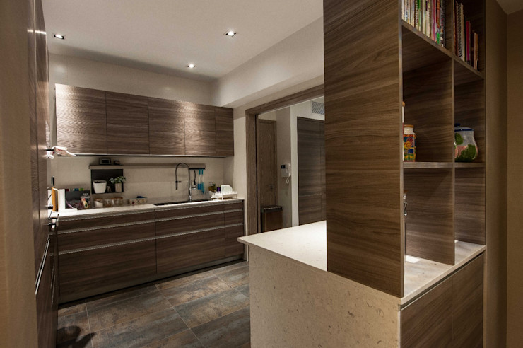 Top Knowledge KitchenCabinets & shelves Wood Brown