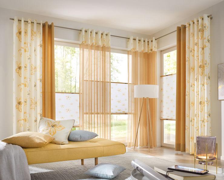 UNLAND International GmbH Windows & doors Curtains & drapes Textile Yellow