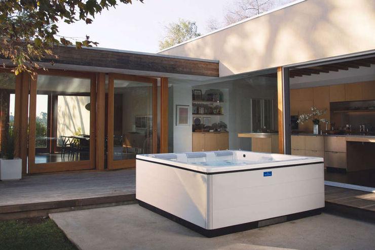 Wellness zuhause SPA Deluxe GmbH - Whirlpools in Senden Moderner Garten