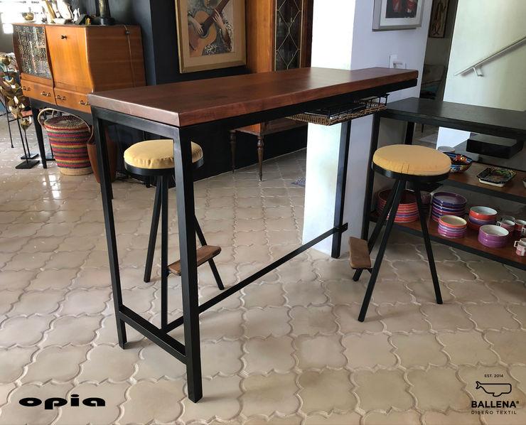 Opia Diseño en Metal Kitchen units Metal Black