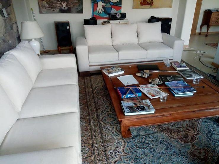Oliver muebles Minimalist living room