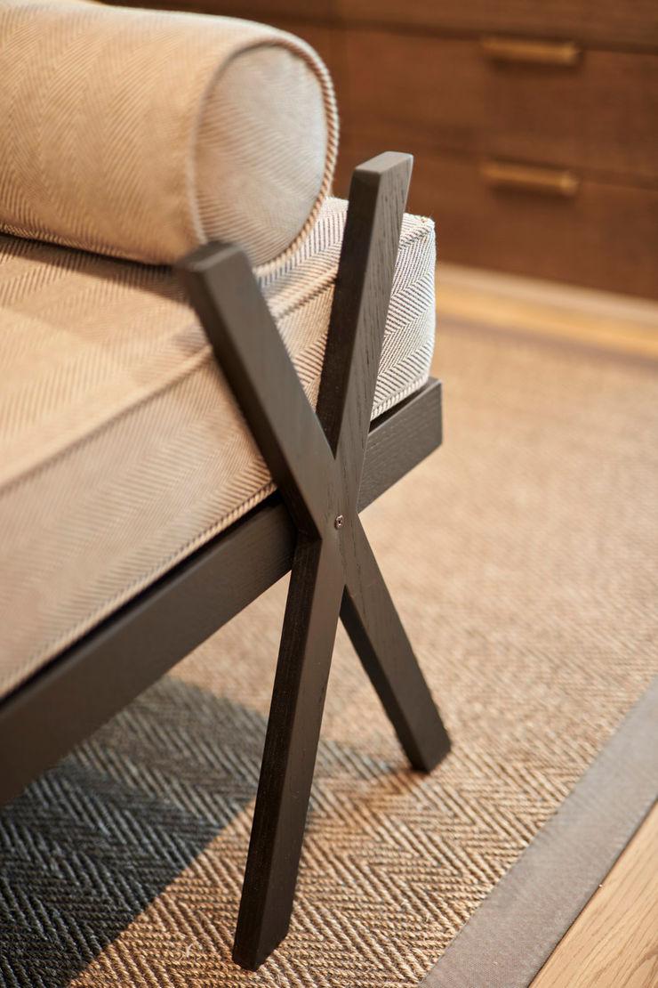 bench Esra Kazmirci Mimarlik BedroomSofas & chaise longue Wood Brown