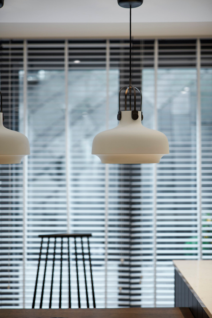 kitchen lighting Esra Kazmirci Mimarlik KitchenLighting Aluminium/Zinc White