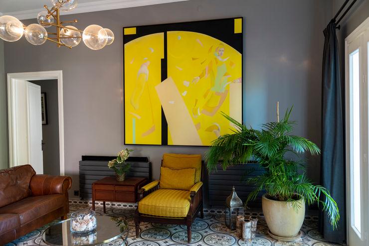 ADU Mimarlık ve Tasarım Ofisi Modern living room