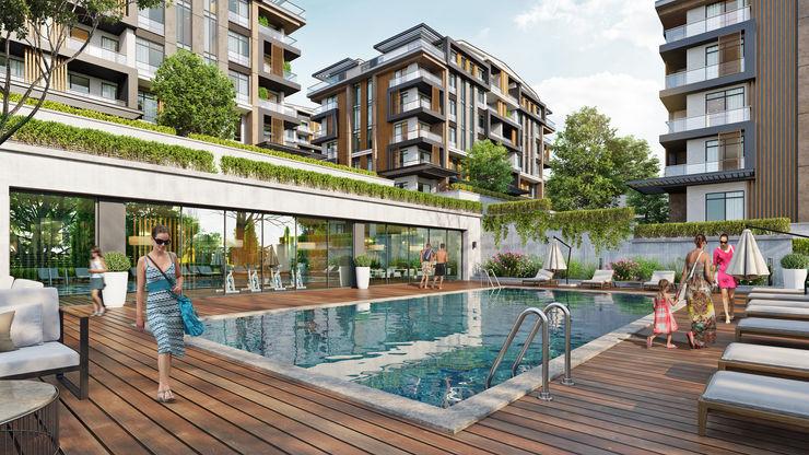 Zeray İnşaat A.Ş. Garden Pool