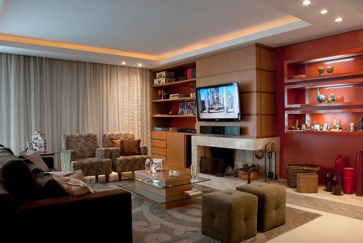 arquiteta aclaene de mello Living room OSB Black