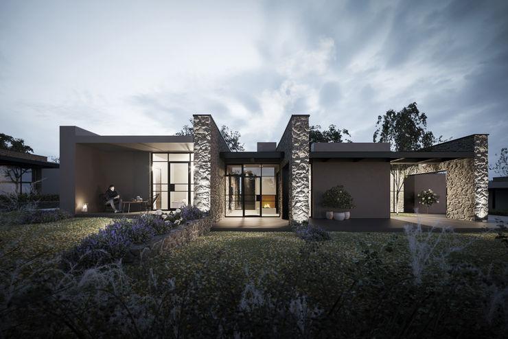 Soffici e Galgani Architetti Modern Houses