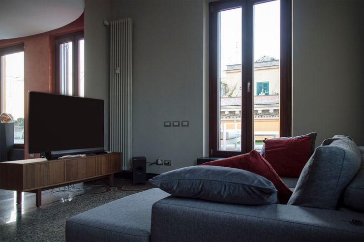 OPA Architetti Salones modernos Gris