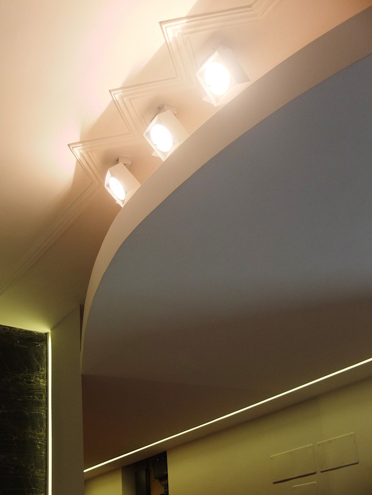 OPA Architetti Salones modernos Blanco