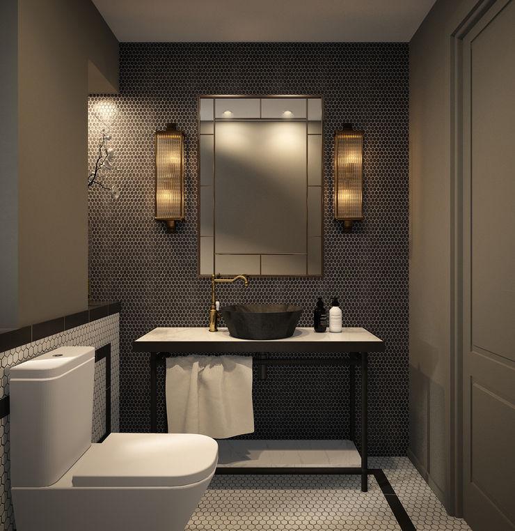 DyD Interiorismo - Chelo Alcañíz Classic style bathroom Plywood Green