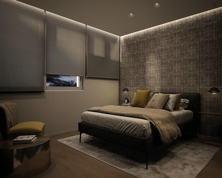 DyD Interiorismo - Chelo Alcañíz Classic style bedroom Plywood Brown