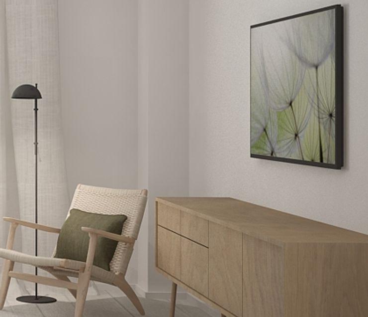 DyD Interiorismo - Chelo Alcañíz Спальня Фанера Зелений