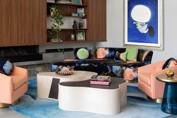 Retro Living Room Decor Design Intervention Modern Living Room