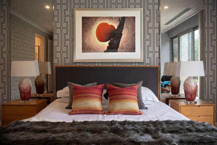 Coral Modern Bedroom Design Design Intervention Modern Bedroom