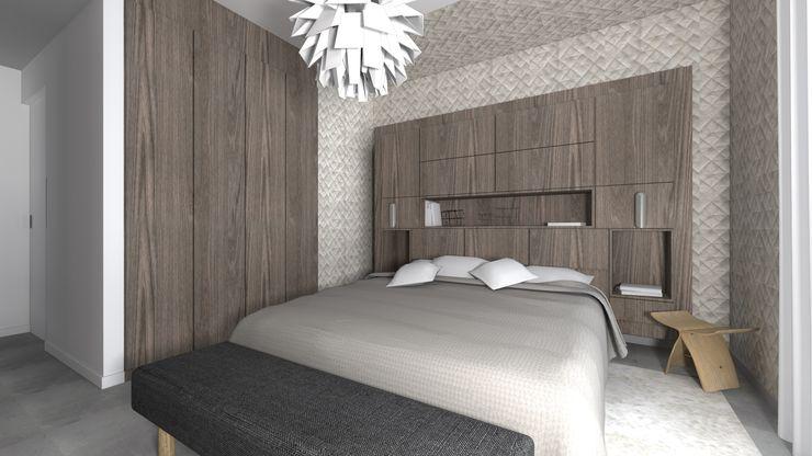 VUE SUR SUITE PARENTALE Lionel CERTIER - Architecture d'intérieur Petites chambres