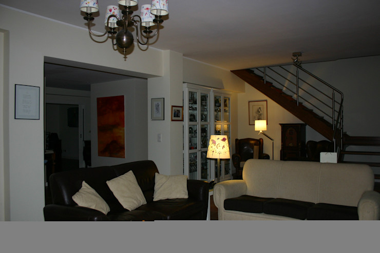 Vista Geral da Sala de Estar Carlos Amorim Faria, Arquitecto Salas de estar clássicas