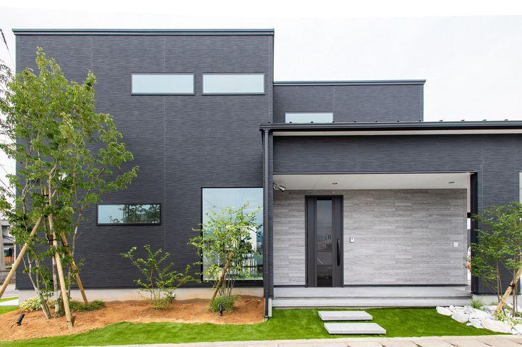 災害時に電気が使える LCCM認定のエコ住宅 プロジェクトホーム モダンな 家