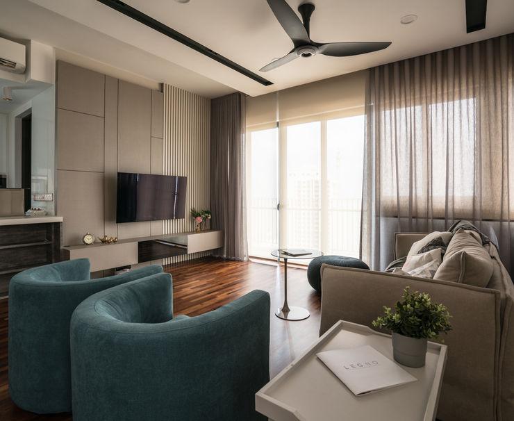 Legno ID & Construction Salones modernos