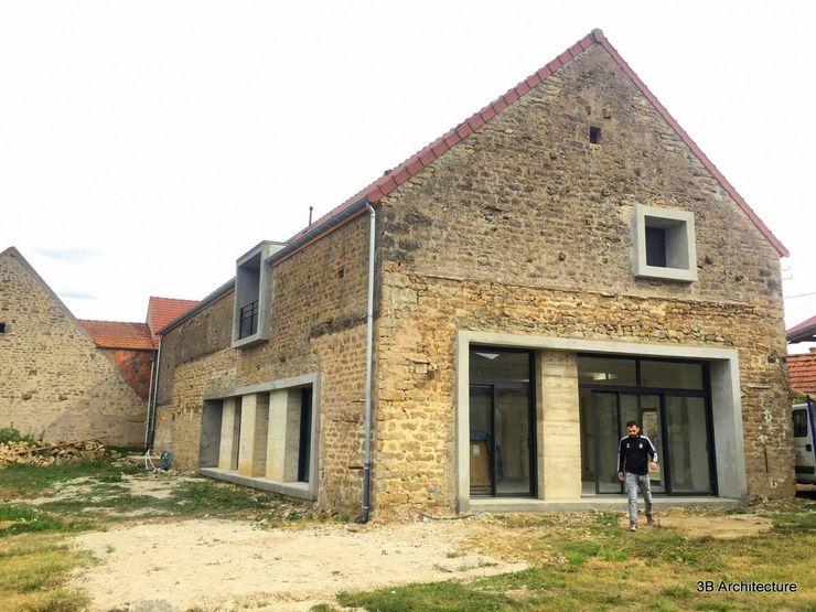 Vue de la nouvelle orientation des façades 3B Architecture Maison individuelle