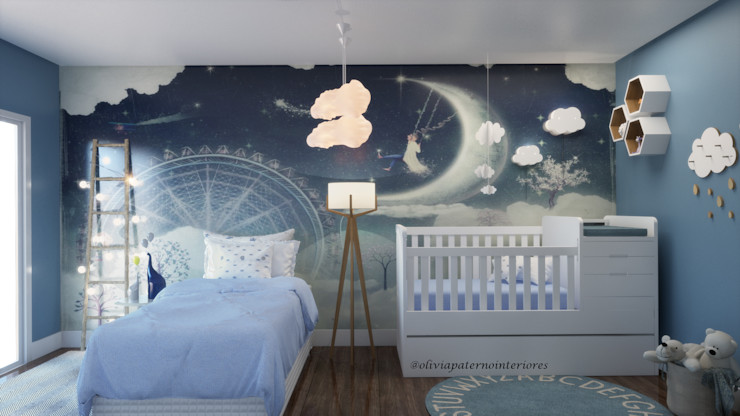 Studio MP Interiores Modern nursery/kids room