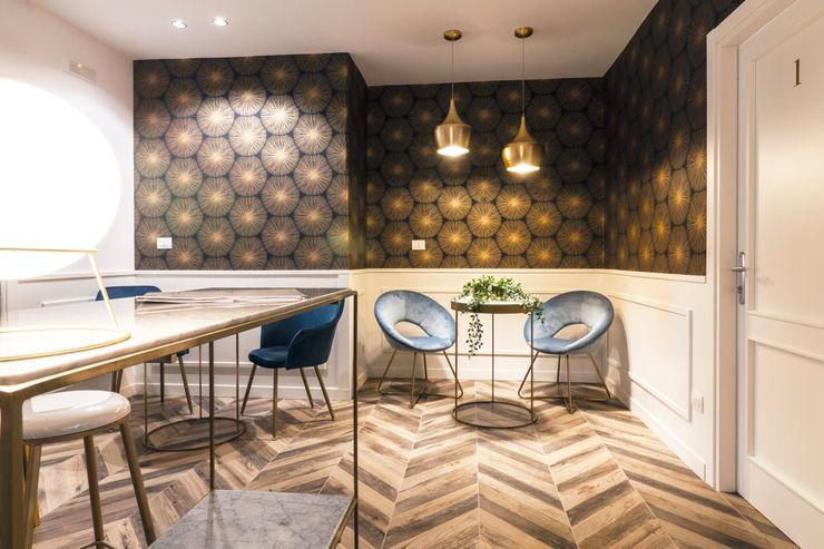 antoniodimaro + Partners Minimalist hotels Amber/Gold