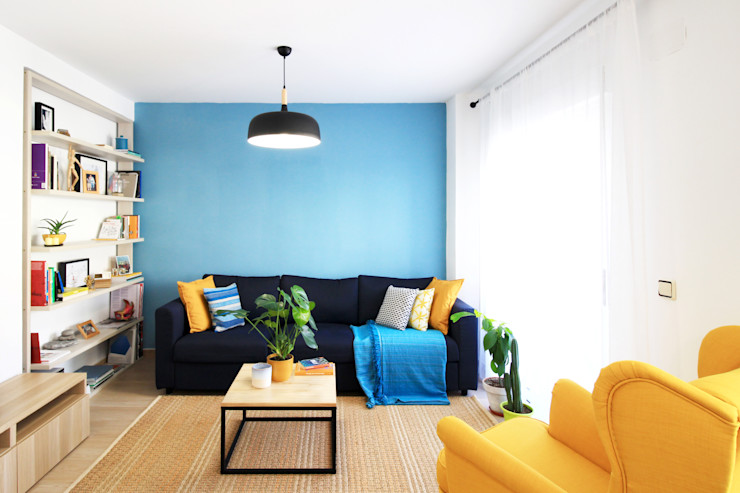 Intenso Albacete Living room Wood Blue