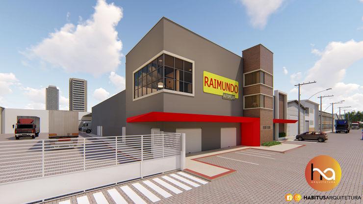 01 Habitus Arquitetura Edifícios comerciais modernos Concreto Cinza