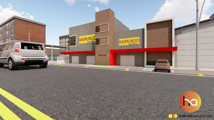 03 Habitus Arquitetura Edifícios comerciais modernos Concreto Cinza