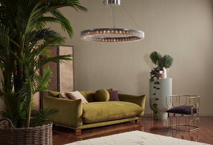 willowlamp غرفة المعيشةإضاءة معدن