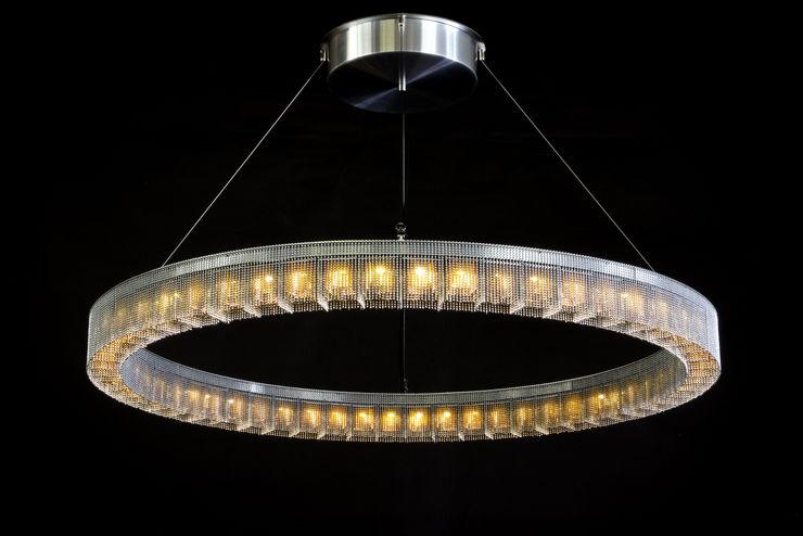 willowlamp غرفة السفرةإضاءة معدن Metallic/Silver