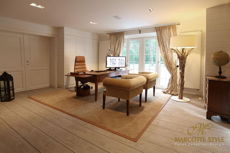 villa landelijke stijl antwerpen Marcotte Style Klassieke studeerkamer