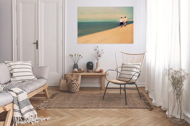 """Akustikbild inkl. Motiv """"Sommer"""" freiraum Akustik Moderne Wohnzimmer"""