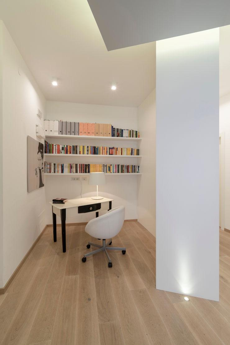 Casa <q>IP</q> interni prospettici MAMESTUDIO Studio moderno