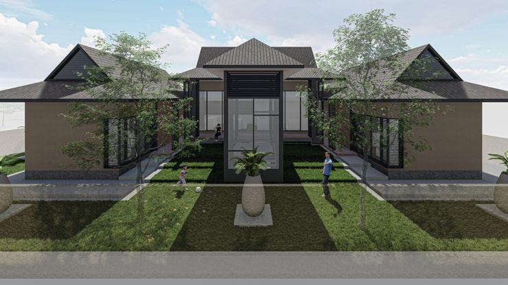 Vision Design - Sarawak Tuinhuis Stenen Beige