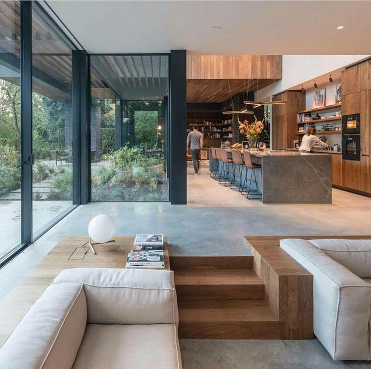 Green Living Ltd Modern style kitchen Solid Wood