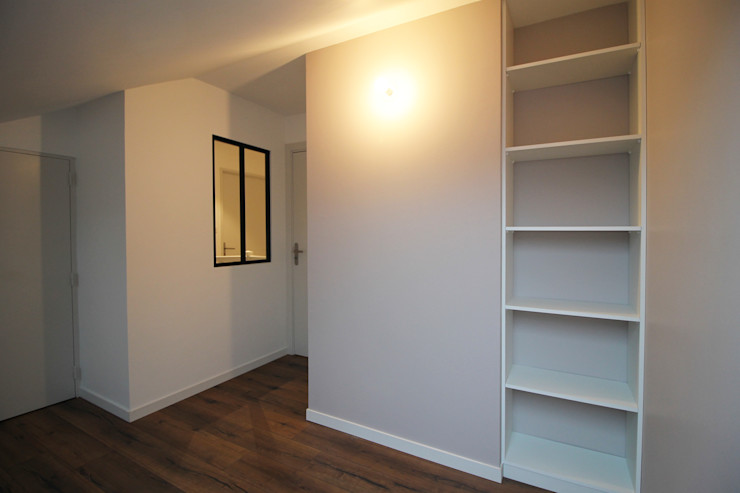 APPARTEMENT A SOUFFELWEYERSHEIM Agence ADI-HOME Chambre moderne Bois Blanc