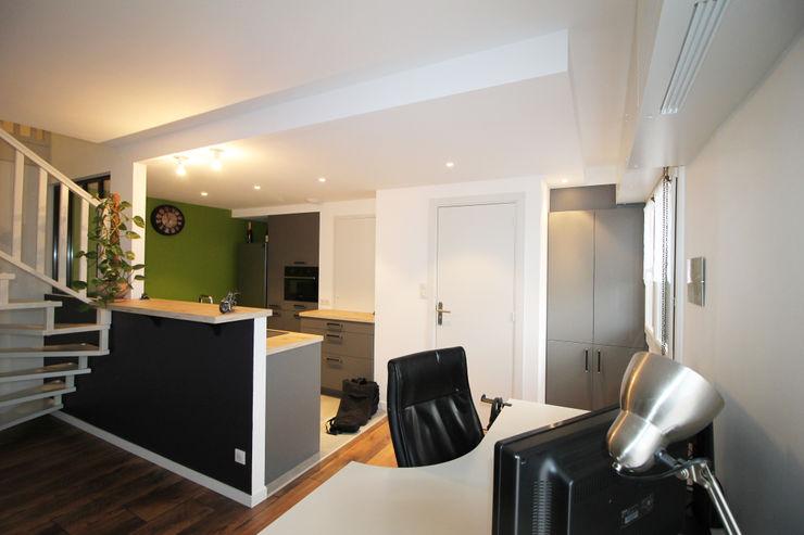 APPARTEMENT A SOUFFELWEYERSHEIM Agence ADI-HOME Cuisine intégrée Briques Blanc