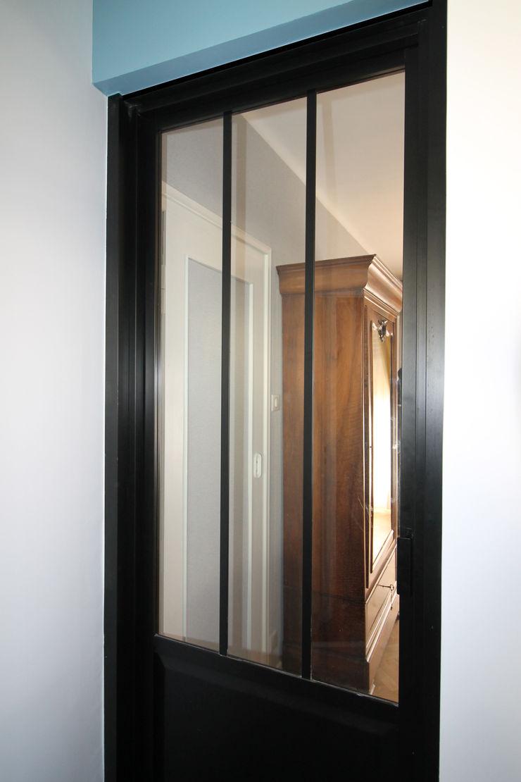 MAISON A SCHILTIGHEIM Agence ADI-HOME Cuisine intégrée Aluminium/Zinc Noir