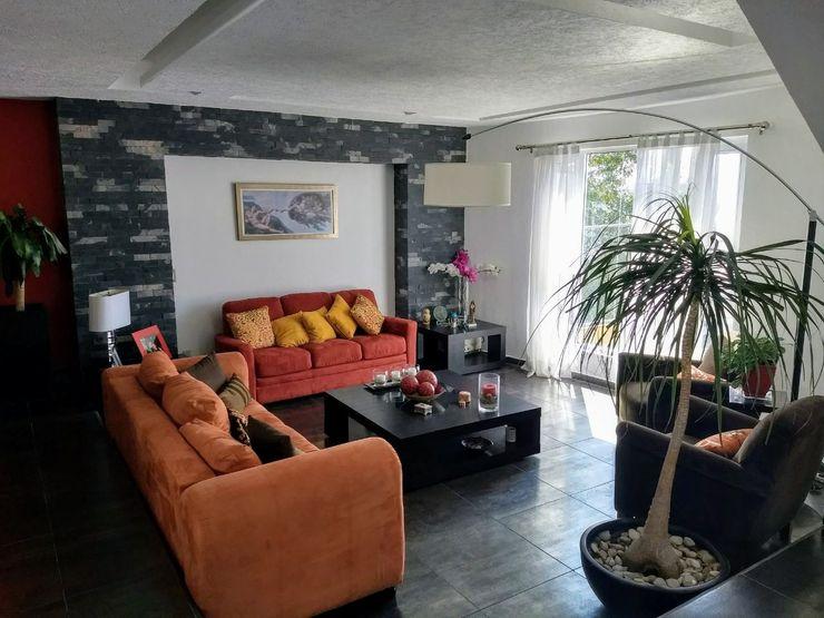 NOEMI AYALA. Arquitecta Interiorista Modern living room