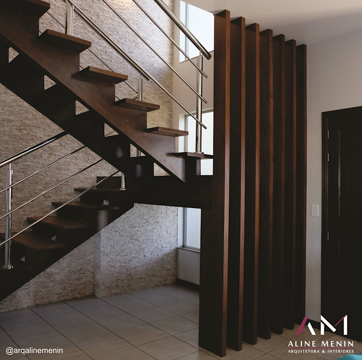 Aline Menin Arquitetura Stairs