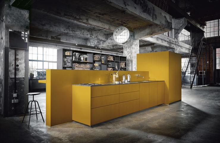 Spitzhüttl Home Company Dapur built in Yellow