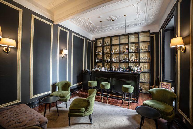 Fotografia de Interiores Webpro360 - Fotografo de Interiores e Arquitectura Salas de estar clássicas Verde