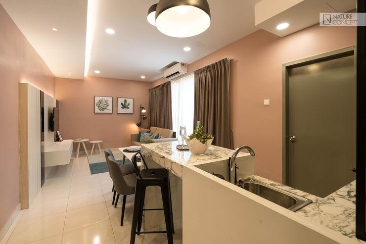 Nature Concept Contracts Sdn. Bhd. Cocinas de estilo moderno