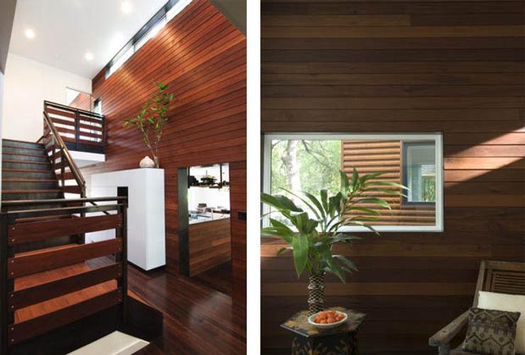 Casa fatta con containers navali Green Living Ltd Soggiorno moderno